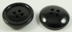 25mm Sewing Button Black 4 Hole 6041