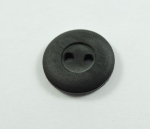 100 x 15mm Sewing Button Almost Black