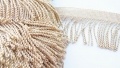 2.5 Inch Heavy Metallic Gold Bullion Fringe
