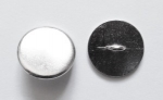 13mm Metal Button Blazer Silver