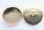 16mm Metal Button Blazer Gold