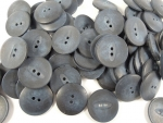 100 x 23mm Aran DeSatin Navy Wholesale Sewing Buttons