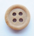 11mm Wood Like Sewing Button 4 Hole