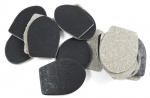 Coat Toggle Tab Black 35mm x 48mm