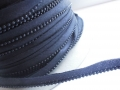 3mm Strung Black Pearl Beads Fabric Trimming