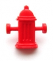 Novelty Button Fire Hydrant 16mm