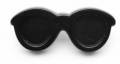 Novelty Button Sun glasses 38mm