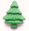 Novelty Button Christmas Tree 28mm Shank