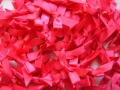 100 Satin Ribbon Bows 7mm Hot Pink