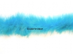 Marabou String Feather Boa 10m Turquoise