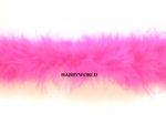 Marabou String Feather Boa 10m Shocking Pink