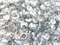 Cup Sequins 8mm Silver Pack of 260