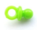 Novelty Button Small Dummy Green 13mm