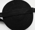 Cotton Tape Black 25mm x 50 Metres Roll