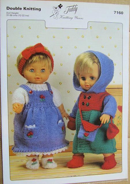 Double Knitting Pattern 7160