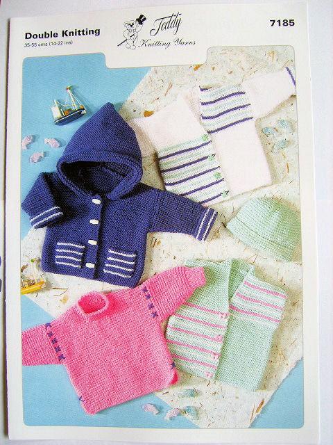 Double Knitting Pattern 7185