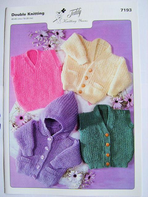 Double Knitting Pattern 7193