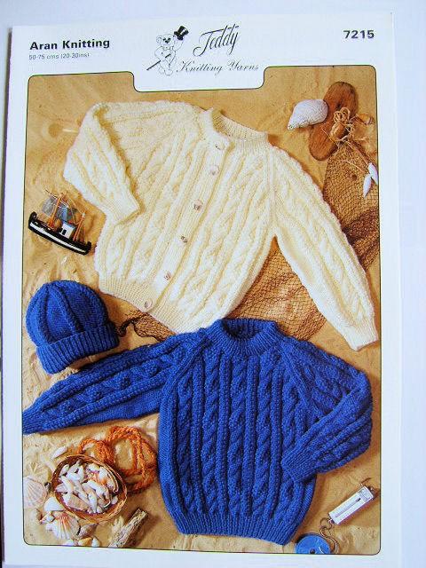 Aran Knitting Pattern 7215
