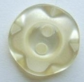 100 x 11mm Winegum Cream Sewing Buttons