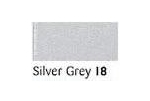 50 Metres Berisfords Double Satin Ribbon 07mm Silver Grey