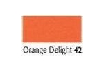 80 Metres Berisfords Double Satin Ribbon 07mm Orange Delight