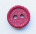 14mm Red Sewing Button