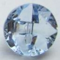 13mm Crystal Light Blue Sewing Button