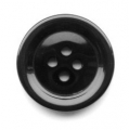 22mm Sewing Button Black 4 Hole