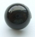 12mm Dome Shank Black Sewing Button