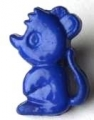 Novelty Button Mouse Royal Blue 8mm