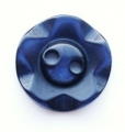 100 x 14mm Winegum Navy Sewing Buttons