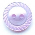 11mm Swirl Edge Lilac Sewing Button