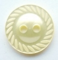 14mm Swirl Edge Lemon Sewing Button