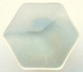 11mm Hexagon Shank Cream Sewing Button
