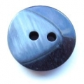 17mm Chunky Two Tone Navy Sewing Button