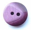 20mm Chunky Two Tone Maroon Sewing Button