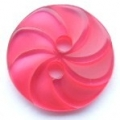 13mm Swirl Red Sewing Button