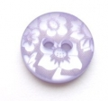 15mm Flower Lilac Sewing Button