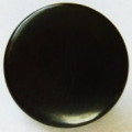 14mm Black Plain Shank Sewing Button