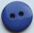 15mm Shadow Stripe Royal Blue Sewing Button