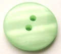 15mm shadow stripe Light Green Sewing Button