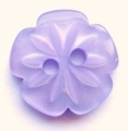 15mm Cutout Daisy Lilac Sewing Button
