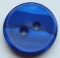 12mm Stripe Royal Blue Sewing Button