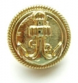 19mm Gold Anchor Sewing Button