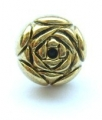 Metal Button Rose Gold Shank 11mm