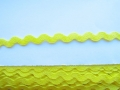 10mm Bright Yellow Ric Rac Ribbon