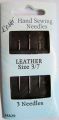 Leather Sewing Needles Size 3-7