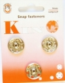 Poppers Snap Fasteners Silver 19mm Size 10