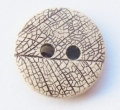 12mm Leaf Skeleton Sewing Button