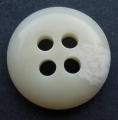 15mm Aran Beige Cream 4 Hole Sewing Button